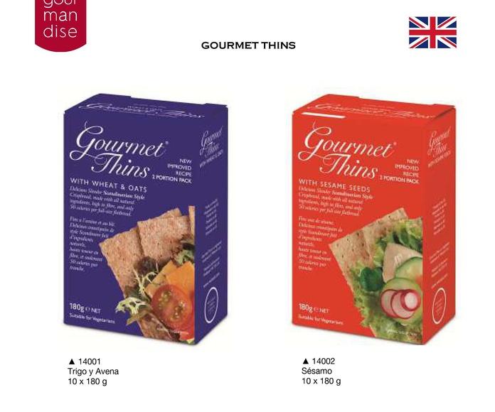 Gourmet Thins: Productos de Casa Bastida