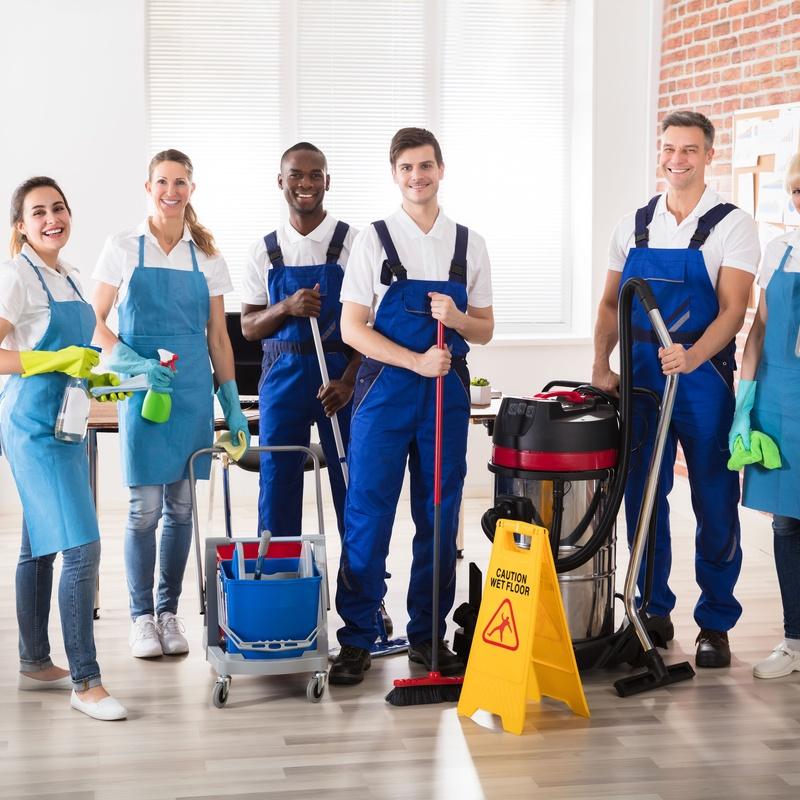 Limpieza de centros comerciales: Servicios de MI Servicios Integrales