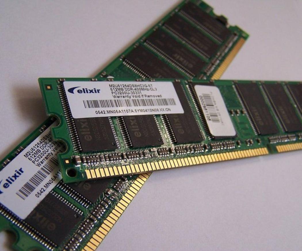 Disco duro y memoria RAM son cosas diferentes
