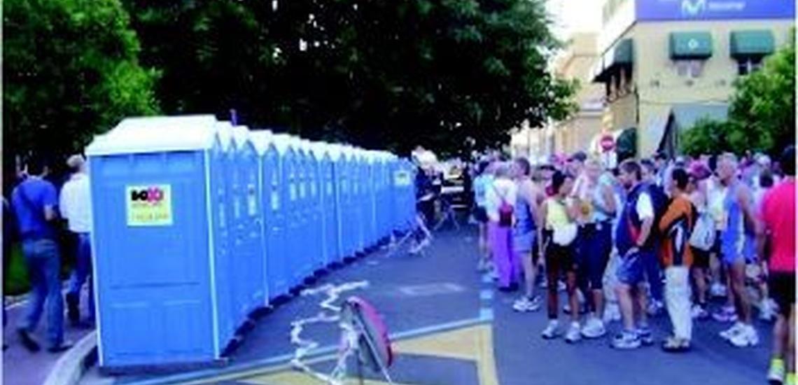 Baños móviles en Mallorca para todo tipo de eventos y fiestas