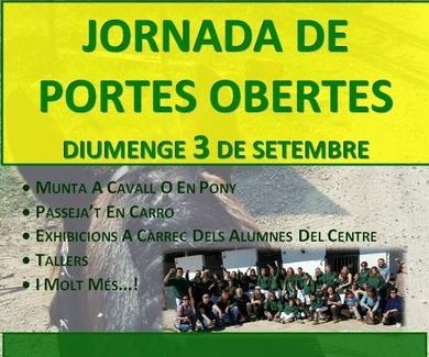 ¡¡GRATIS!! IV JORNADA DE PUERTAS ABIERTAS