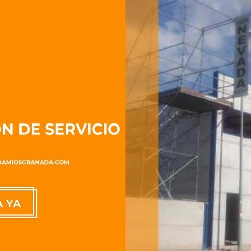 Instalación de andamios en Granada | Alquileres Nevada