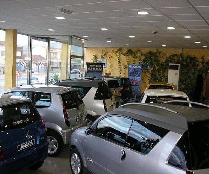 Venta, taller y recambios vehículos sin carnet Murcia