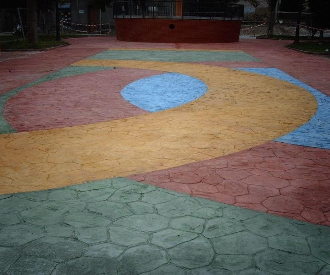 Propiedades y ventajas del pavimento impreso