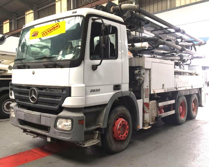 MB 2632 VENDIDO: Vehículos industriales de Emirtrucks Trading