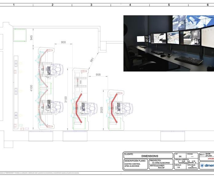 Salas de control: Productos de Dimensionis