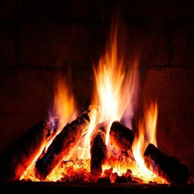 Aprende cómo encender tu nueva chimenea