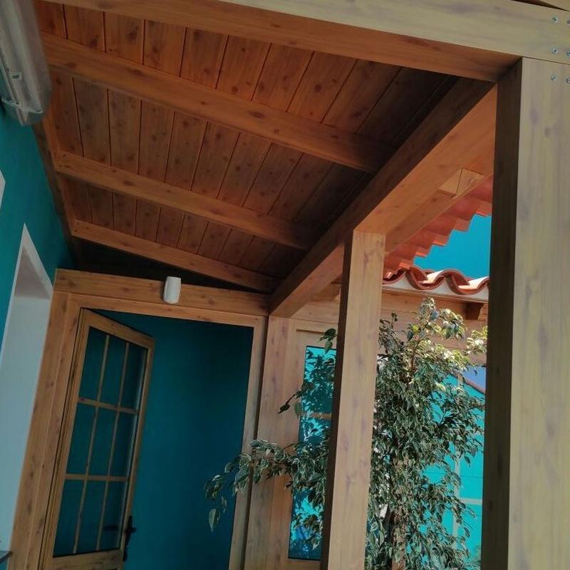 Cerramiento de porche: Carpintería  Aluminio Tenerife de Namiju Aluminios