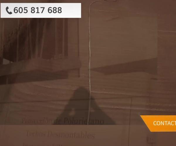 Poliuretano proyectado en Jaén | Aislamientos Antonio Gómez