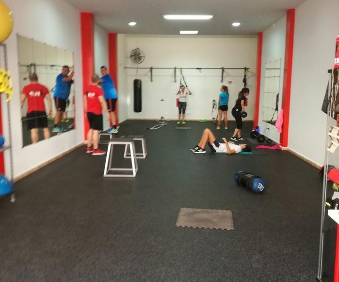 Rehabilitación de lesiones deportivas: Servicios de JEP Training Center