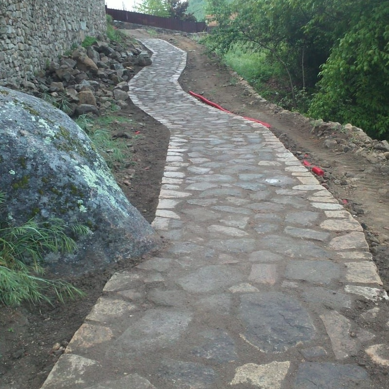 Pavimentaciones en terrenos particulares