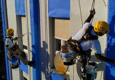 Fachadas Santander - Trabajos verticales - humedades y condensaciones