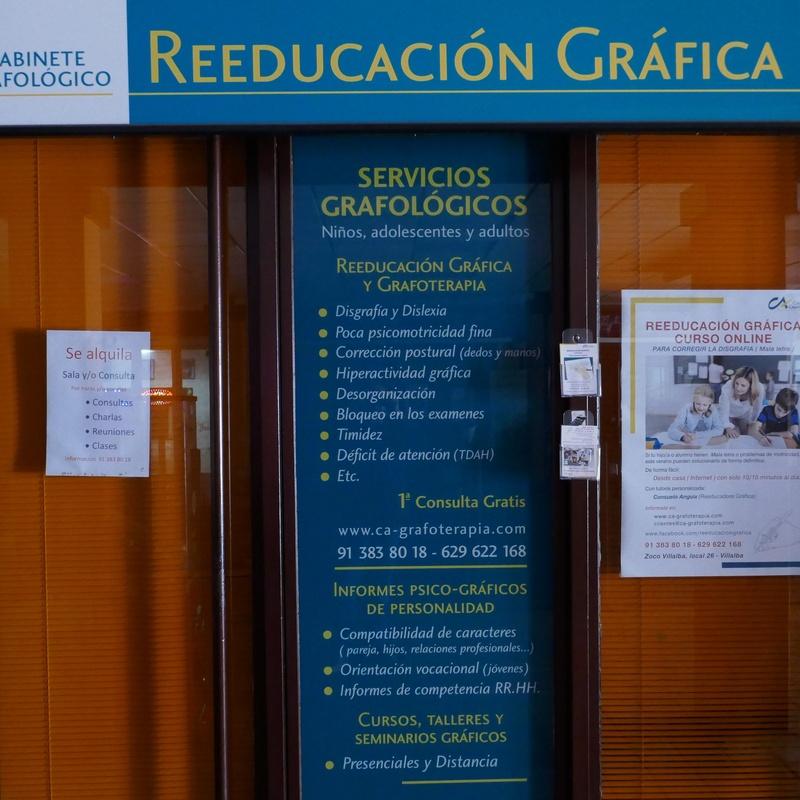 Gabinete grafológico: Tiendas de Zoco Villalba