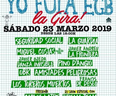 Klick & Go -Colaborador en el concierto en Gira ...YO FUÍ A EGB Bilbao