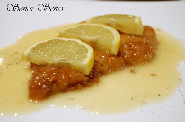 9a pollo  con salsa limon: Carta de Sushi King Restaurante