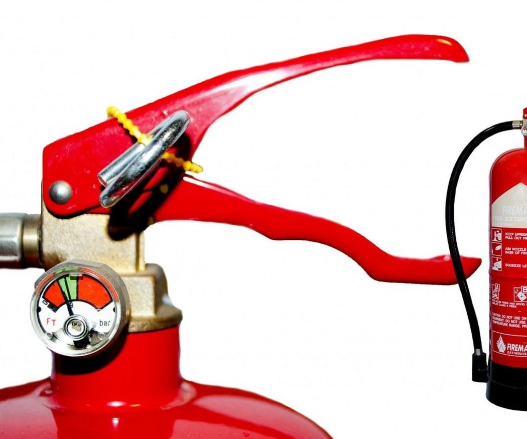 La importancia de revisar los extintores