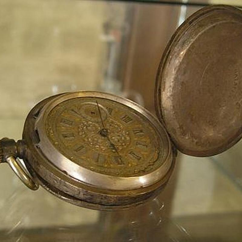 Reloj de bolsillo en Zaragoza