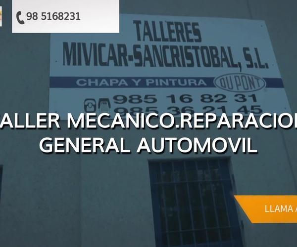 Talleres de chapa y pintura en Gijón | Talleres Mivicar San Cristóbal, S.L.