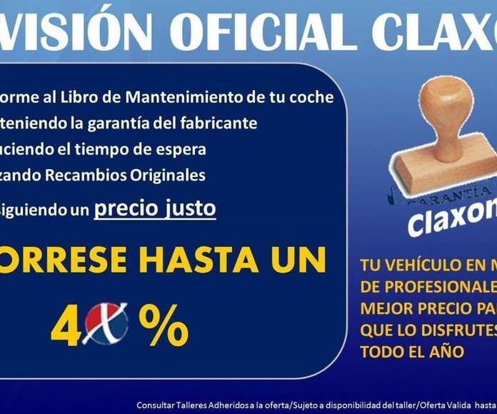 Revisión Oficial Claxon