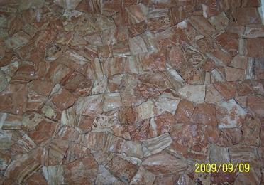 Mamposteria concertada en seco (hueso) en piedra jamon