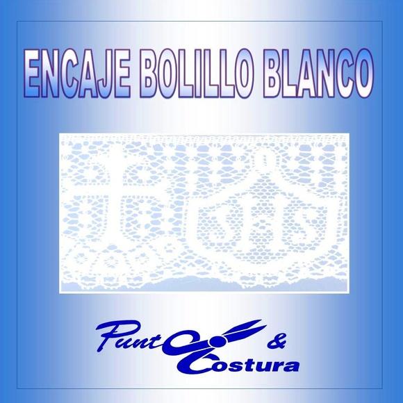 ENCAJE BOLILLO BLANCO