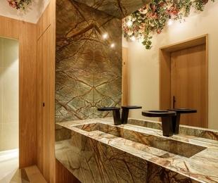 Decoración de interiores con mármol