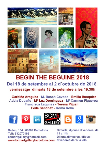 BEGIN THE BEGUINE 2018