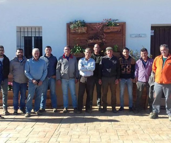Los socios de Freslucena visitan la fábrica de Onabafruit