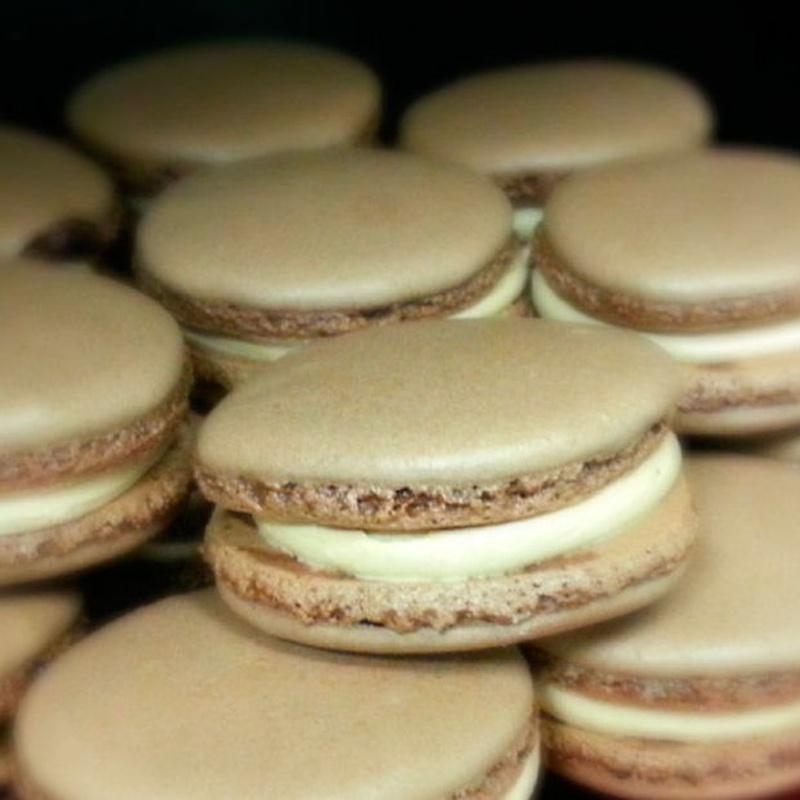 Macarons de chocolate: Catálogo de Pastelería Oiartzun