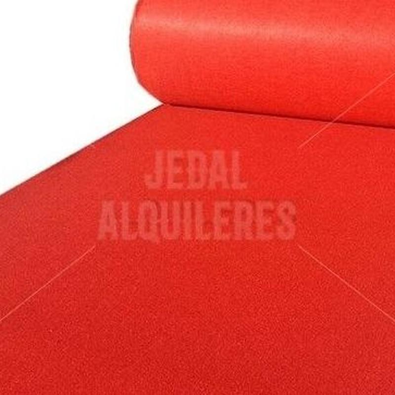 MOQUETA ROJA: Catálogo de Jedal Alquileres