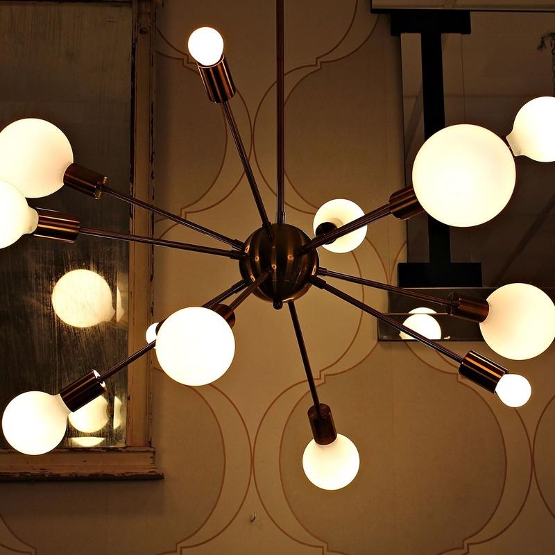 Lámpara retro modelo SPUTNIK :  de Ruzafa Vintage
