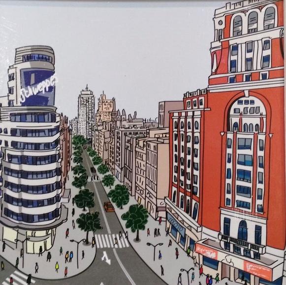 Madrid plamak Gran Vía: CATALOGO de Quadrocomio La Casa de los Cuadros desde 1968