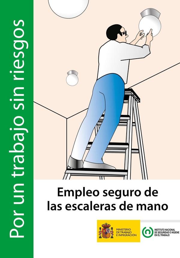 Empleo seguro de escaleras de mano