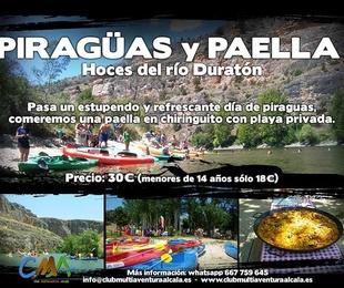 Dia 11 Agosto Piraguismo en el Duratón