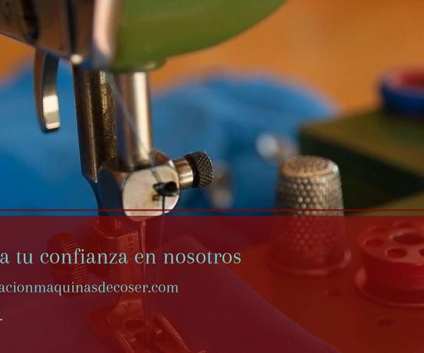 Máquinas de coser en Zaragoza | Ortiz