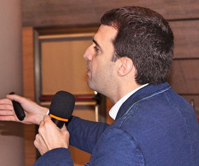 El Vicepresidente de San Miguel Adicciones: Dr. Francisco David Lorenzo González.