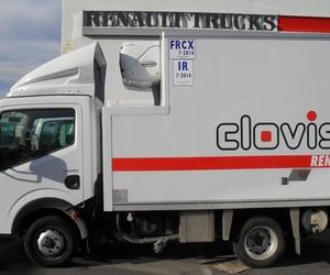 Camiones carrozados frigoríficos