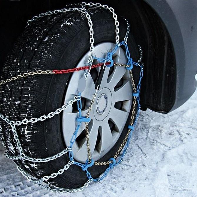 ¿Neumáticos o cadenas para nuestro coche?