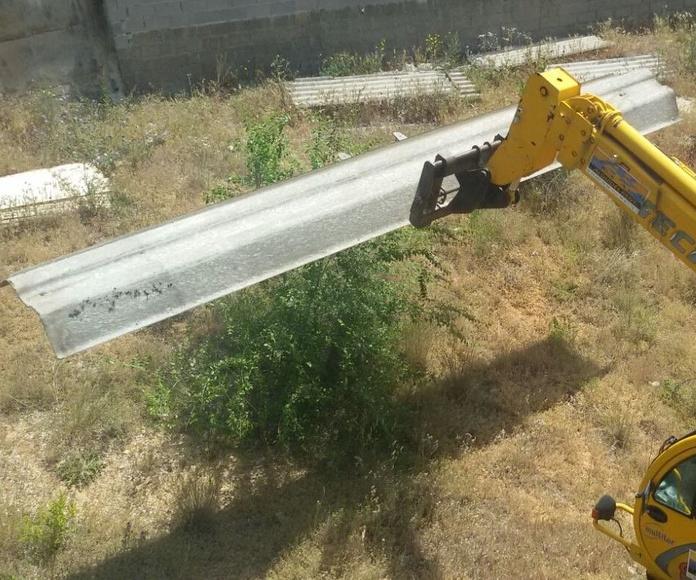 Trabajos con amianto en Madrid- Toledo- Guadalajara- Cuenca- Ciudad Real-