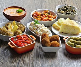 Raciones: Carta de Mesón Restaurante A Ría