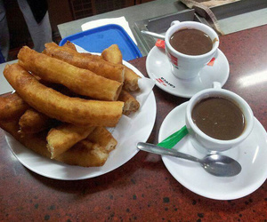 Chocolates con churros