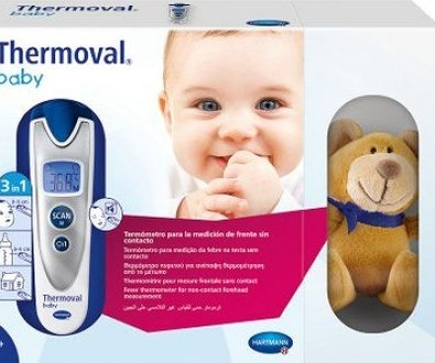 nuevo termómetro para los más pequeños