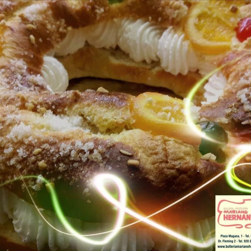 Productos de temporada: Nuestros productos de Bollería y pastelería Mariano Hernández