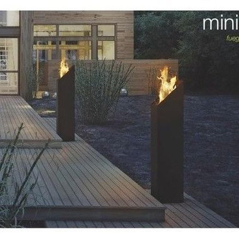 Minimal: Productos y servicios de Chimeneas Hergar
