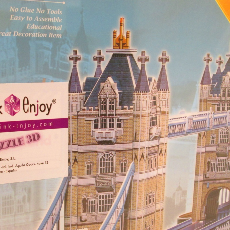 PUZZLE 3D.TOWER BRIDGE