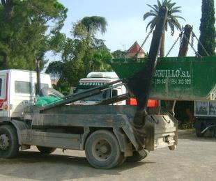 SERVICIO DE TRANSPORTE DE CONTENEDORES DE RESIDUOS
