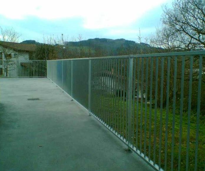 Cercado de seguridad: Servicios de Cercados Sarelan