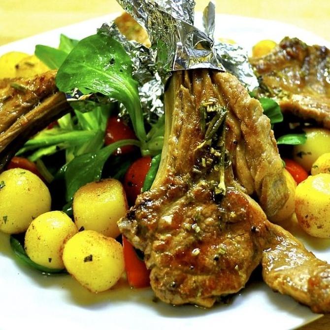 ¿Carne o pescado en el menú de boda?