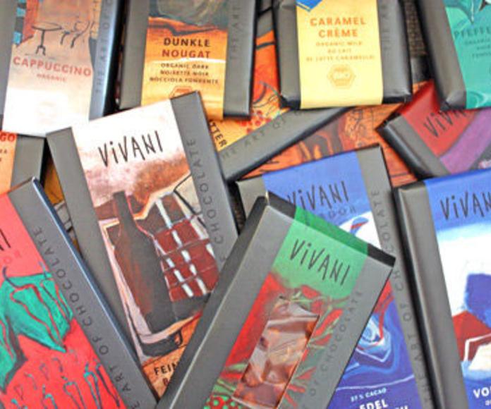 VIVANI, Chocolates, 92% cacao, 85%, 71%, con Leche, Blanco con vainilla...: Catálogo de La Despensa Ecológica