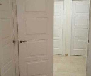 Puertas lacadas instaladas